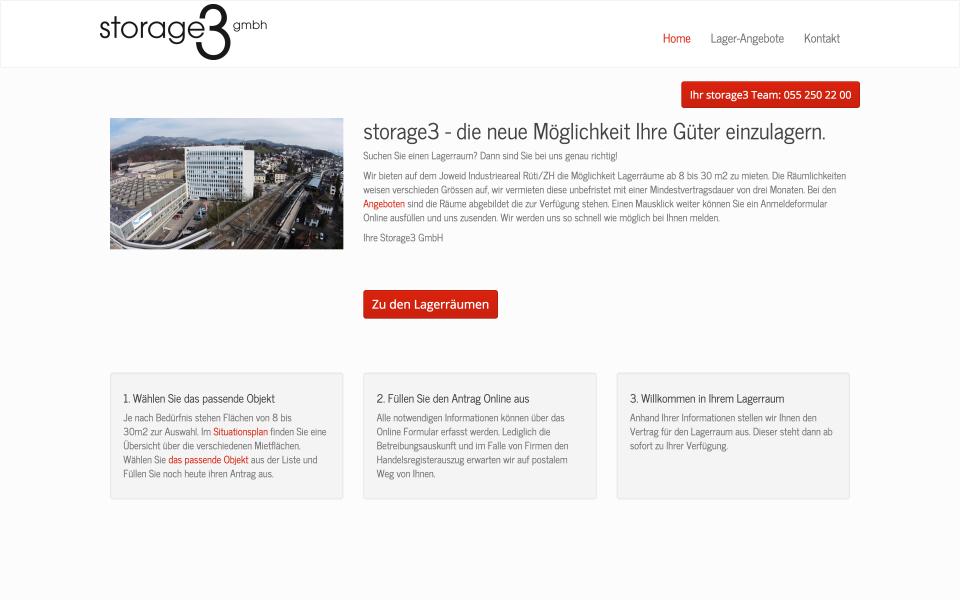 Screenshot storage3.ch